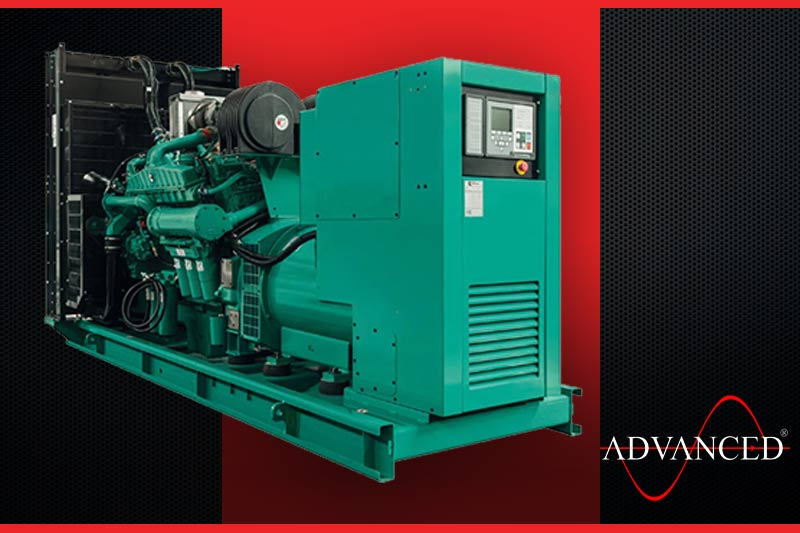 750kVA standby diesel generator in a container