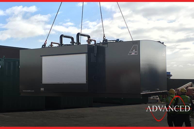 bio fuel tank to accompany the generator