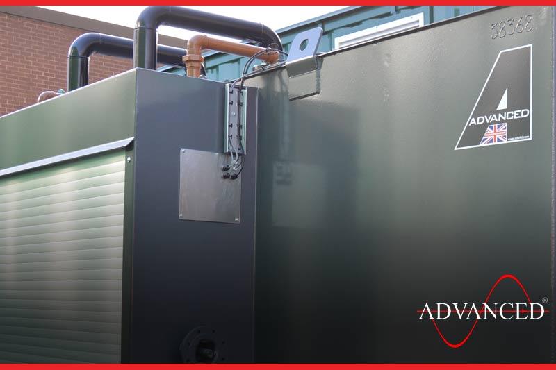 another bespoke diesel generator fuel tank