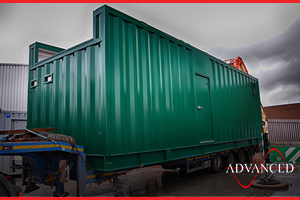 diesel generator housing