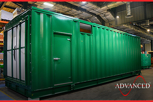 Diesel Generator Housing Box