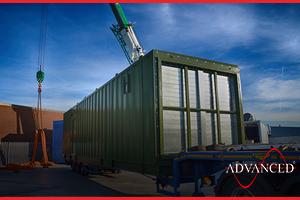 bespoke diesel generator acoustic container
