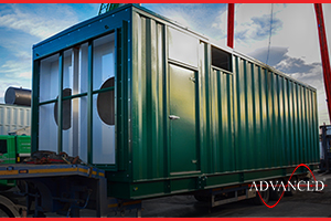 bespoke diesel generator acoustic building