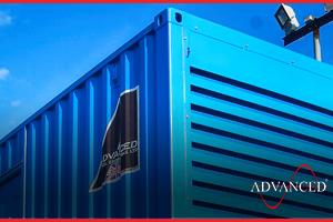 700 kVA generator enclosure
