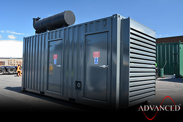 20ft80dBAat1metreAcousticContainerFront