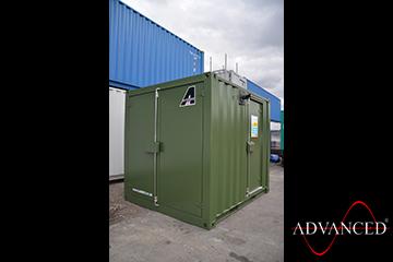 Perkins 28kVA Container