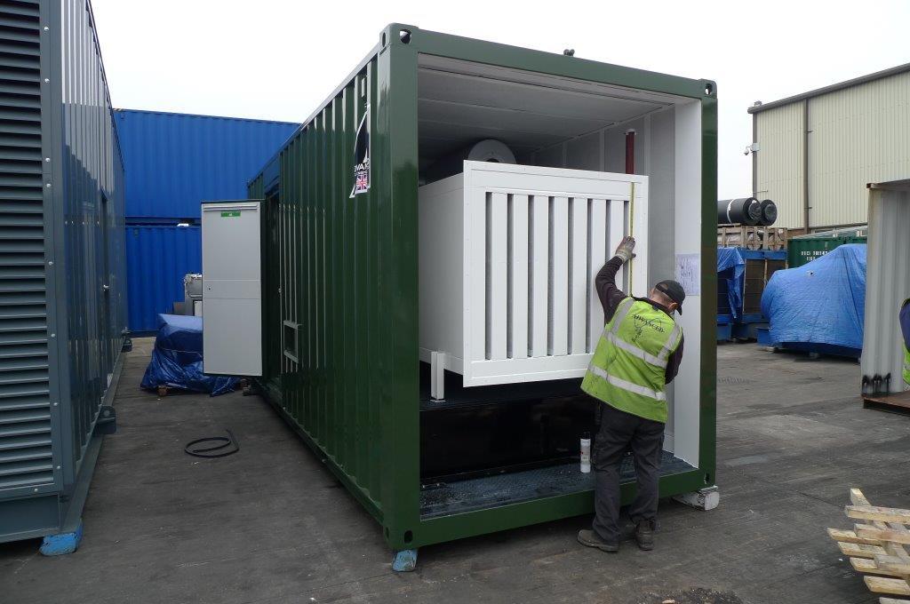 Super Silent Container