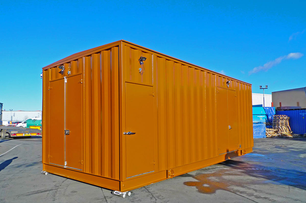 Switchgear container
