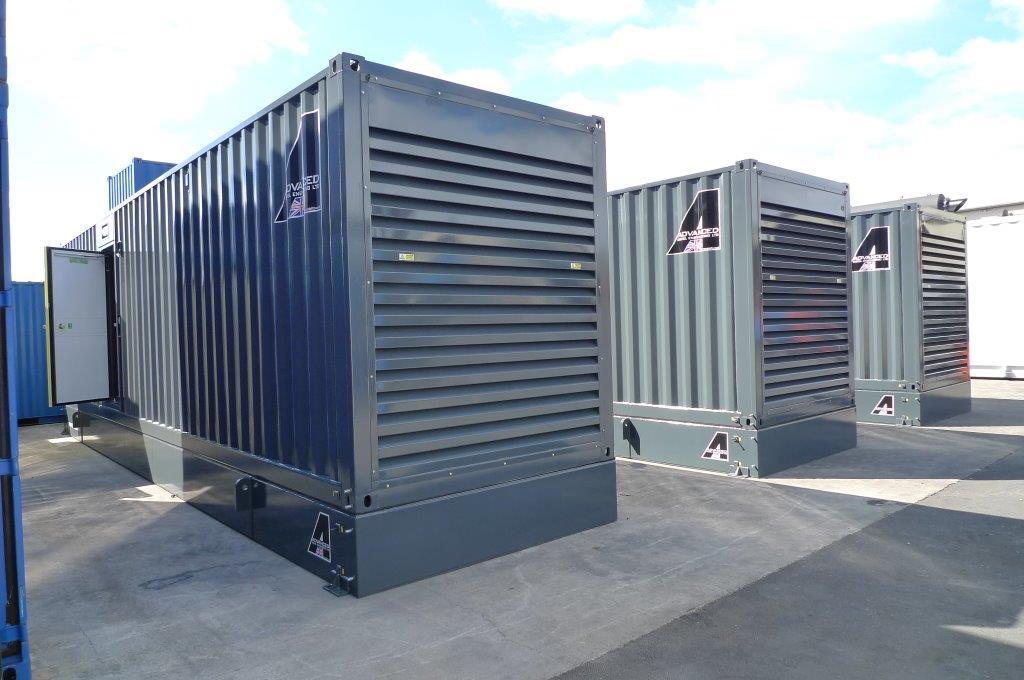 Cummins 900kVA fully synchronised diesel generators