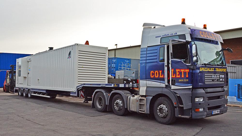 Generator model Cummins 1400 D5 in a 40ft Container