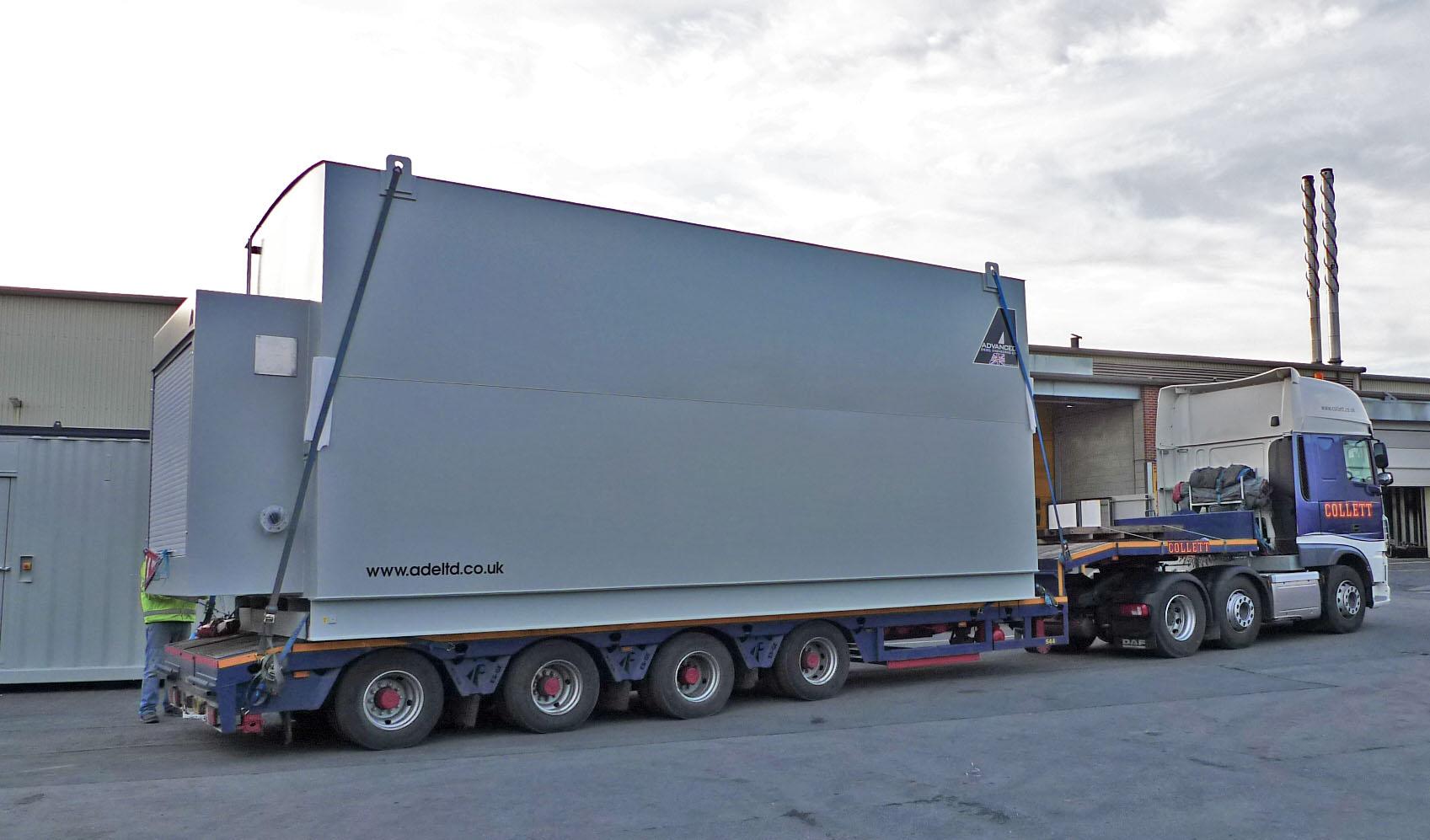 67,000 Litre double skinned bulk fuel tank