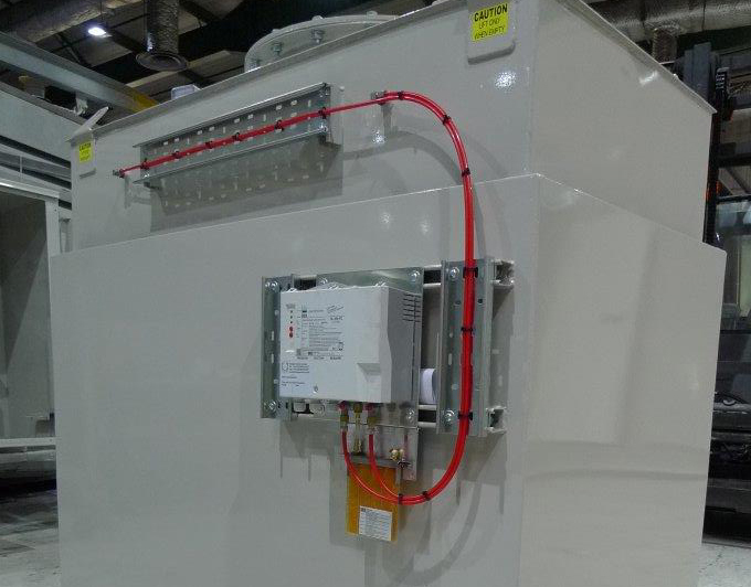 1400 Litre double skinned bulk fuel tank