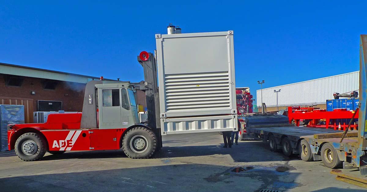 4000Ltr double skinned base fuel tanks