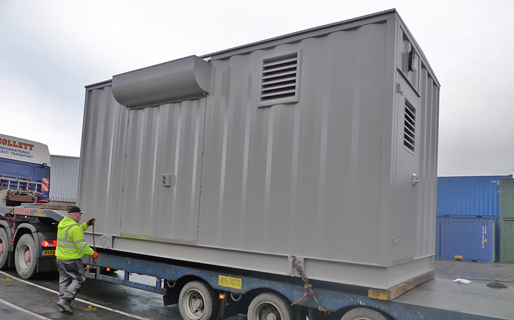 20ft housing for switchgear