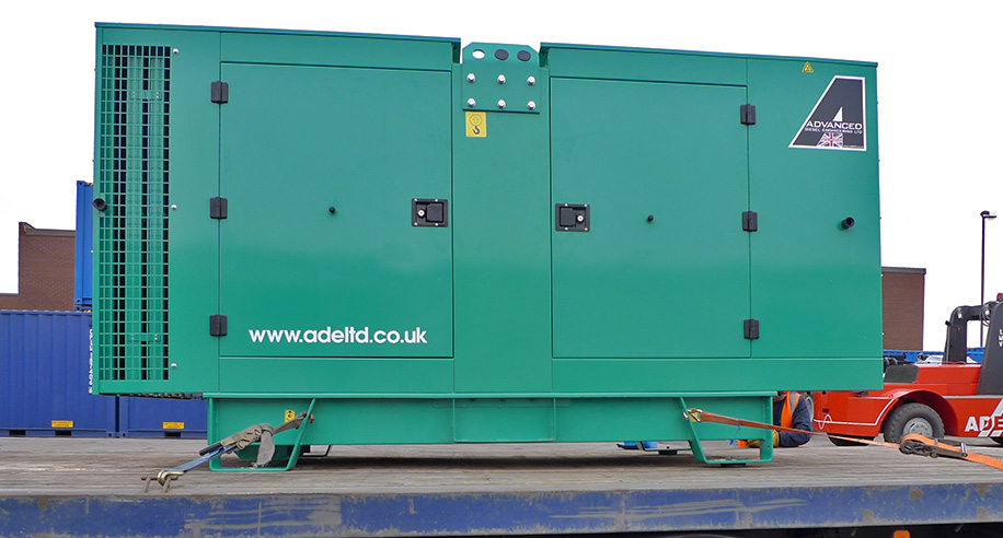 Enclosed Cummins 110Kva
