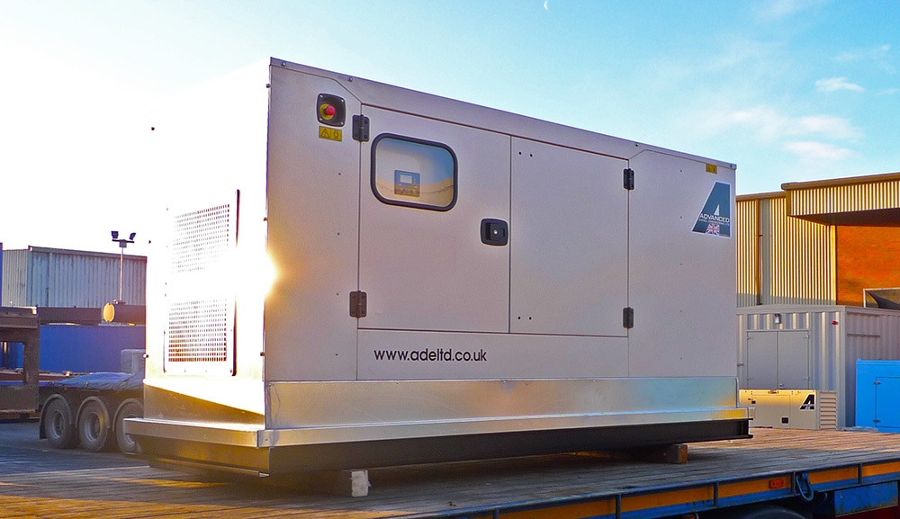 P110-3 silent generator