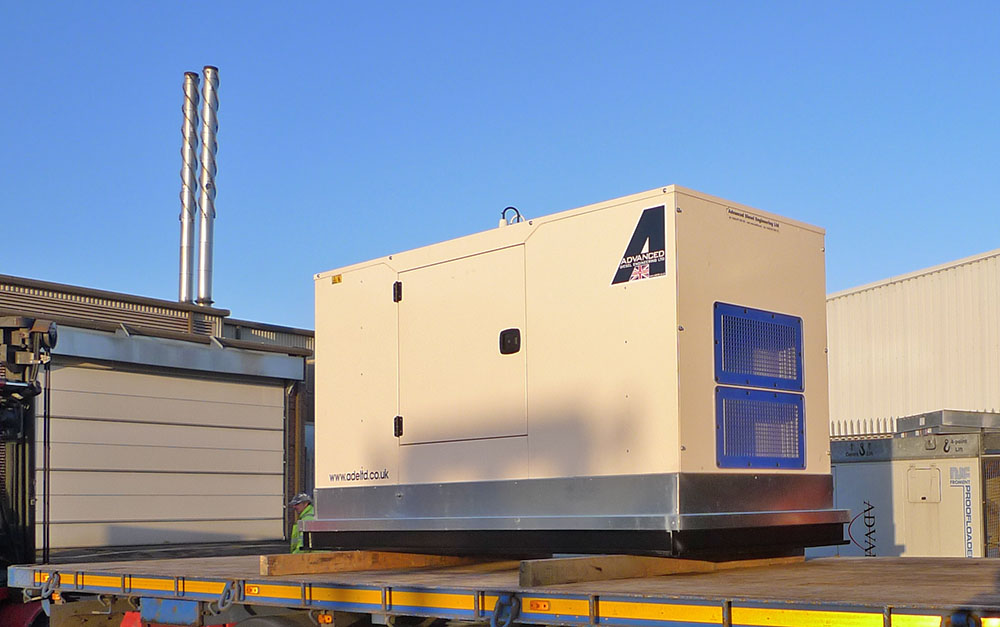 P110-3 silent perkins generator