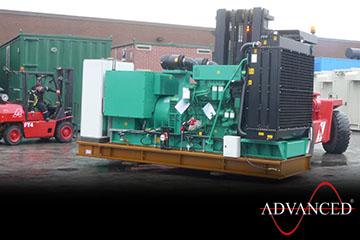 3xc1100d5CumminsDieselGenerator Lifting