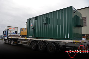 65kvaPerkinsGeneratorInContainerLorry