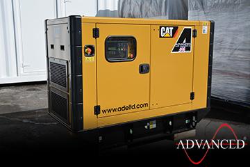 CAT33kVADieselGeneratorsScotland