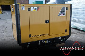 CAT33kVADieselGeneratorsScotlandRear
