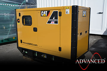 CAT33kVADieselGeneratorsScotlandSide