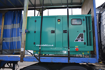 Enclosed 55kVA Cummins