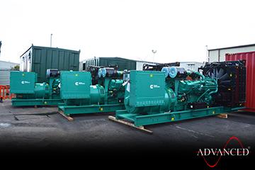 Cummins 1675D5A-Diesel-Generator