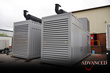 Perkins 250kVA Enclosed