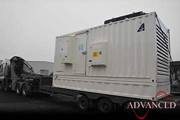 Cummins330kVA-Enclosure-leaving