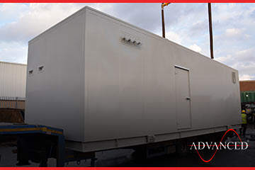 second of eight advanced diesel generators