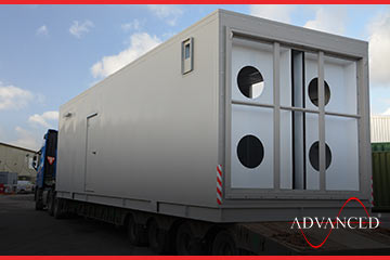 sixth of eight advanced diesel generators