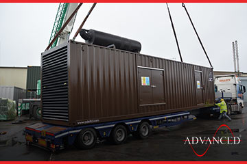 advanced cummins 1400kVA diesel generator