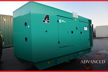 Africa Exports diesel generators loaded on a truck