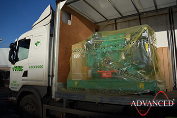 genset packed up for Norway