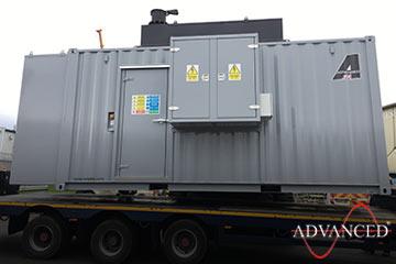 containerised Cummins 825Kva diesel generator
