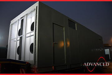 first of eight advanced diesel generator