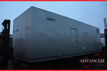 first of eight advanced diesel generators