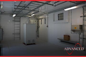 inside modular housing