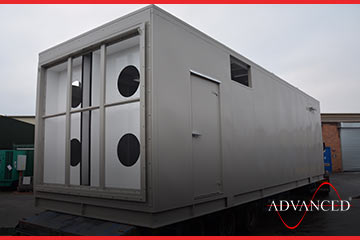 second of eight advanced diesel generator