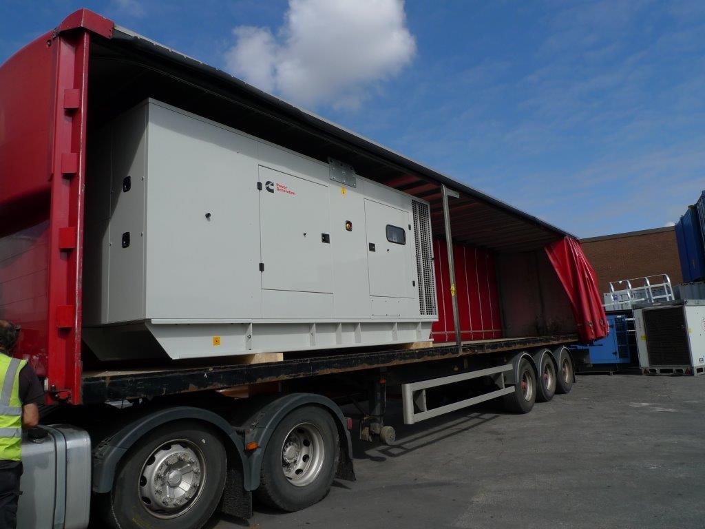 500kVA Cummins diesel generators