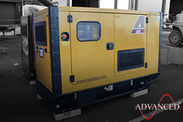 diesel generator bound for Africa
