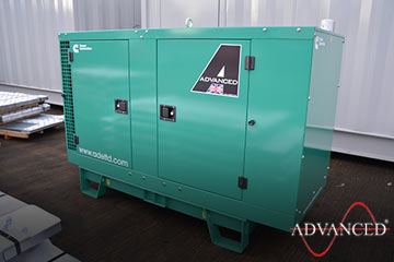 diesel generator bound for a new home