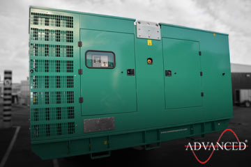 diesel generator bound for Netherlands