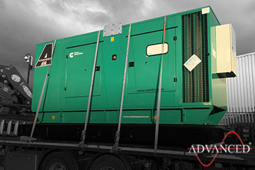 diesel generator bound for royal mail