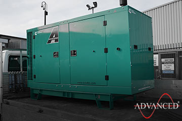 44kva Cummins genset on van
