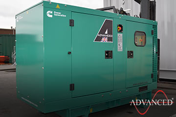 cummins genset for a festival in Manchester