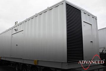 Diesel Generator bespoke housing