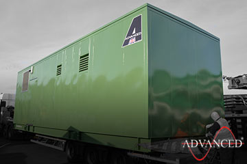 Diesel Generator on lorry