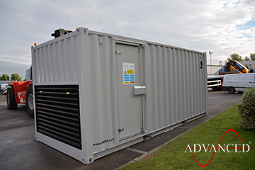 Perkins 140kVA Acoustic Enclosed